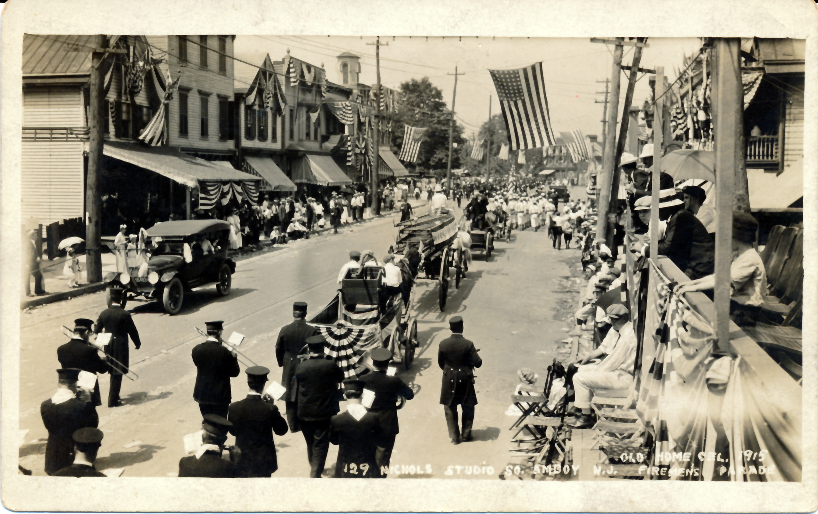 Apr06~02 Firemans Parade 1915