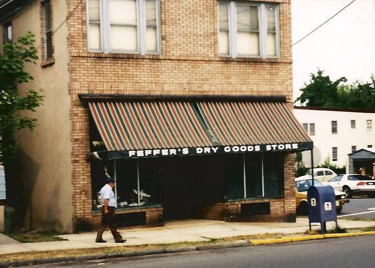 Feffer's dry goods, pine avenue david