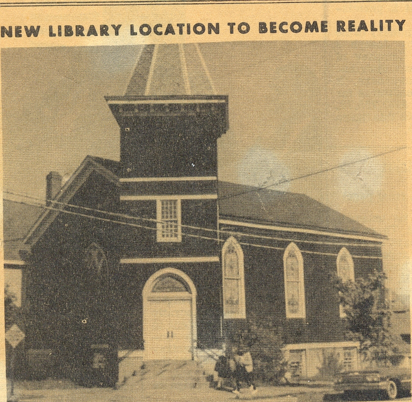 Library SITE #3 Second Street 1964