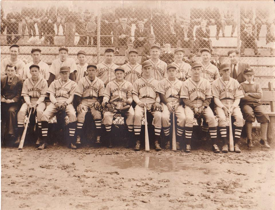 Mechanicsville baseball club  June 1938