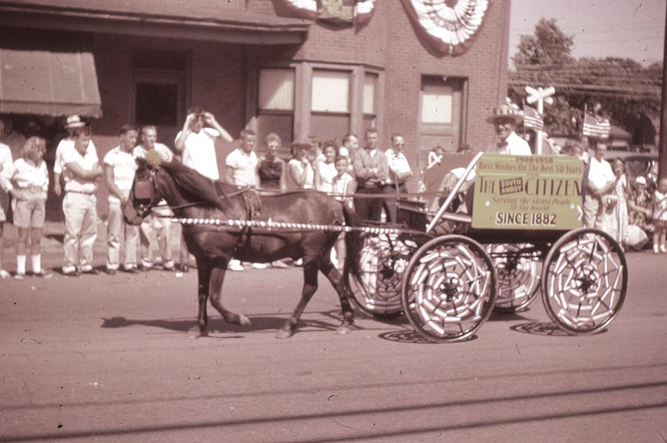 Parade 1958 So Amboy Citizen