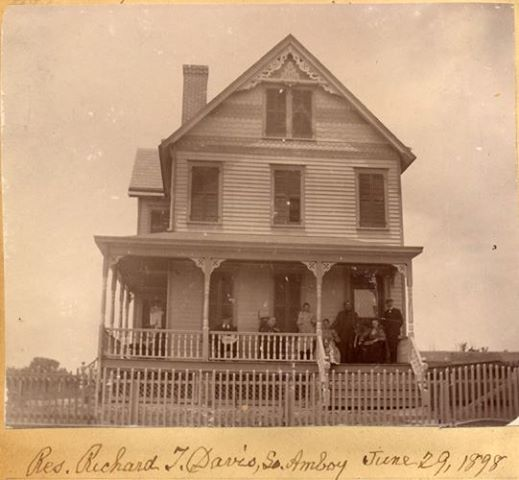 Richard Davis home 1898