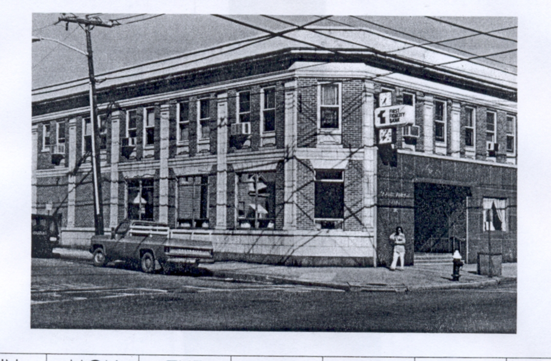 SOUTH AMBOY LIBRARY SITE # 2 AUGUSTA & BROADWAY 1916--1964