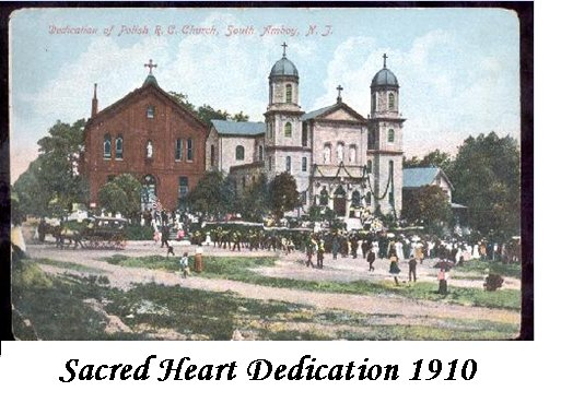 Sacred heart dedication 1910
