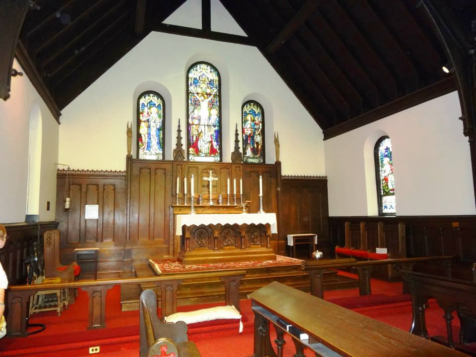 christ church inside