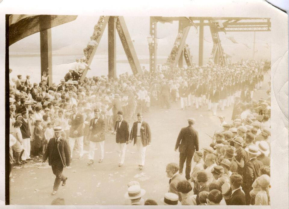 dedication of victory bridge