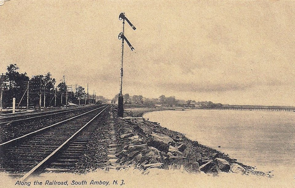 railroad tracks south amboy