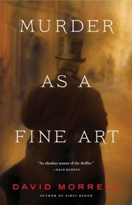 Featured Book &#8211; Murder as a Fine Art by David Morrell